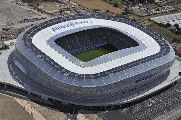 Stadien der Fußballeuropameisterschaft (06/2016)