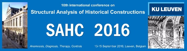 10th International Conference on Structural Analysis of Historical Constructions