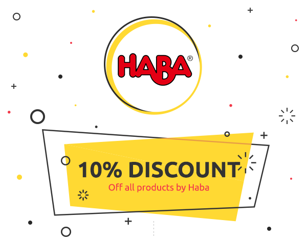 Weekly Deal: 10% discount on Haba