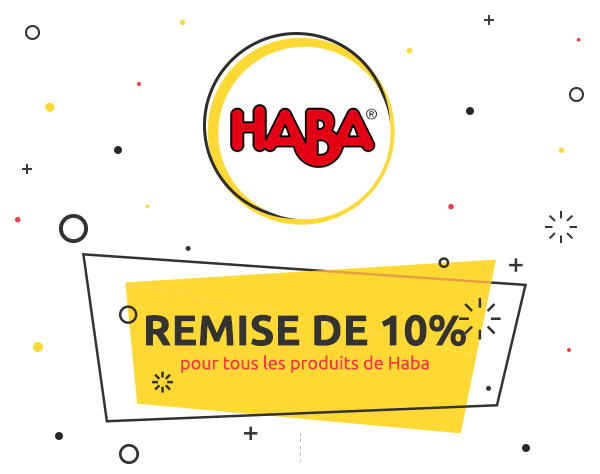 Weekly Deal: Remise de 10% sur Haba
