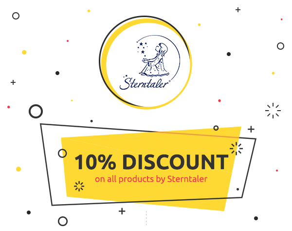 10% discount on all products by Sterntaler