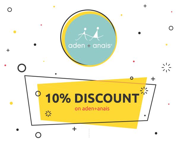 WeeklyDeal: 10% discount on aden+anais