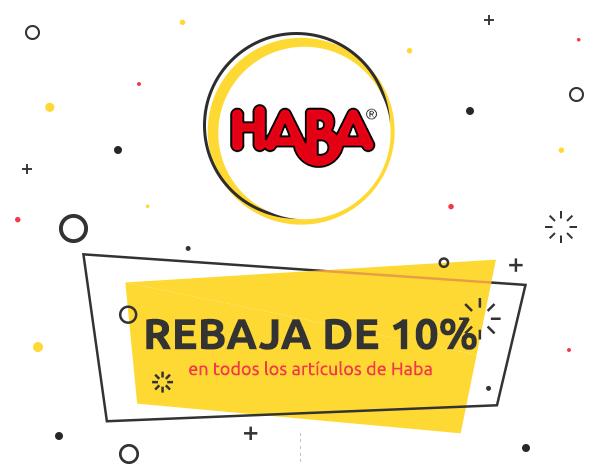 Descuento de 10% en todos los artículos de Haba