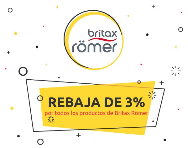 Weekly Deal: 3% de descuento en Britax Römer