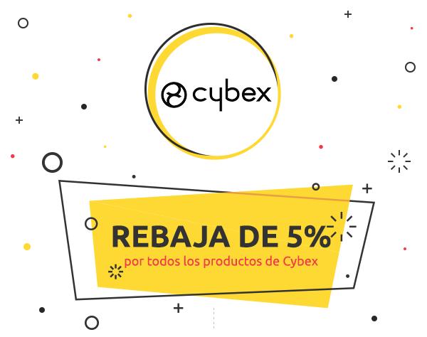 Descuento de 5% por todos los productos de Cybex