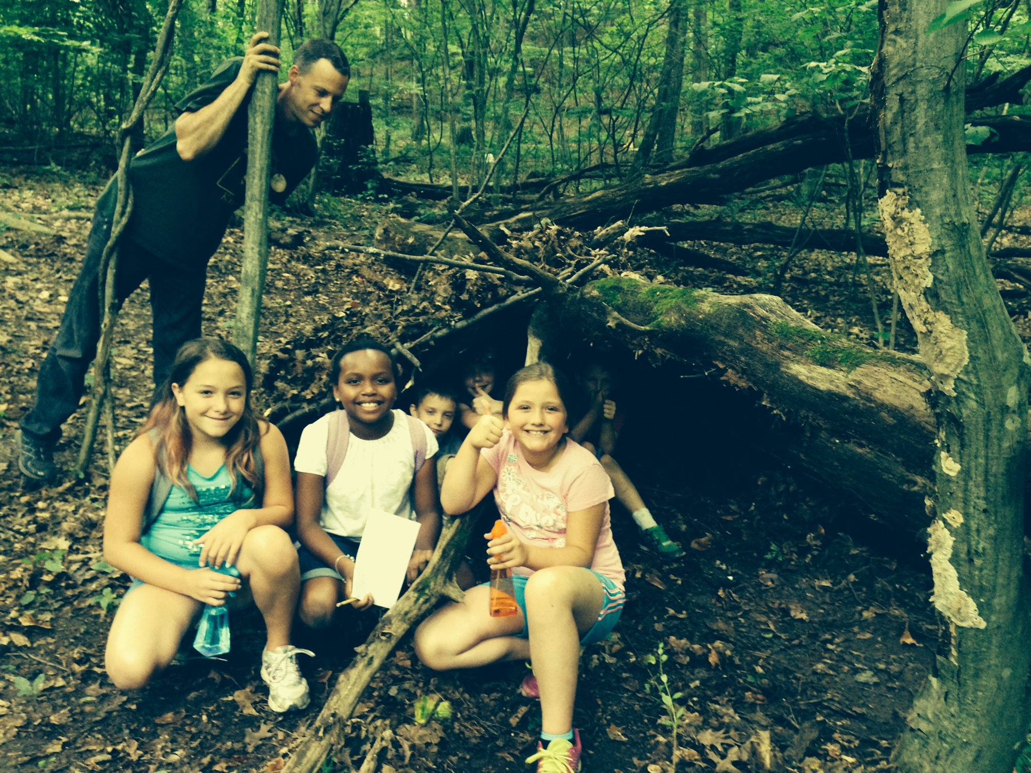 esopus bend nature preserve teacjhing boys and girls the importance of a healthy natural environment