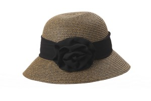 CLOCHE WITH FLOWER