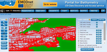 Image of EMODnet Portal for Bathymetry