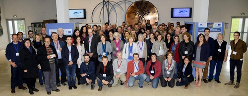 Participants of the meeting in Brest (image by M. Gouillou, IFREMER
