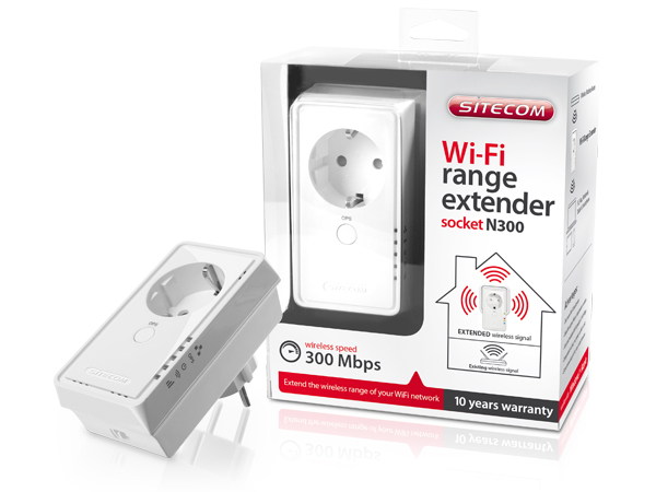 WLX-2007 Wi-Fi Range Extender Socket N300