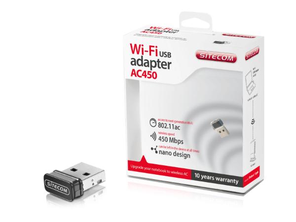 WLA-3001 Wi-Fi USB Adapter AC450