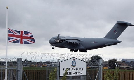 Union Flag Presentation @ Memorial Garden | Brize Norton | England | United Kingdom