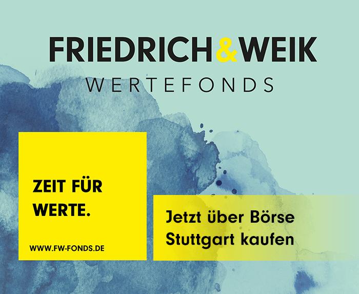 Friedrich & Weik Wertefonds - Zeit für Werte.