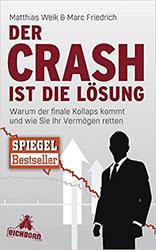 """Buchcover """"Der Crash ist die Lösung"""""""