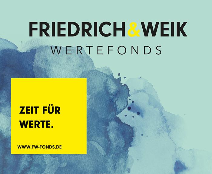 Friedrich & Weik Wertefonds – Zeit für Werte.