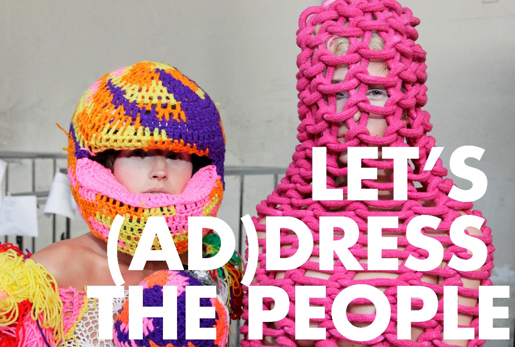 Beeld Let's (Ad)dress the People
