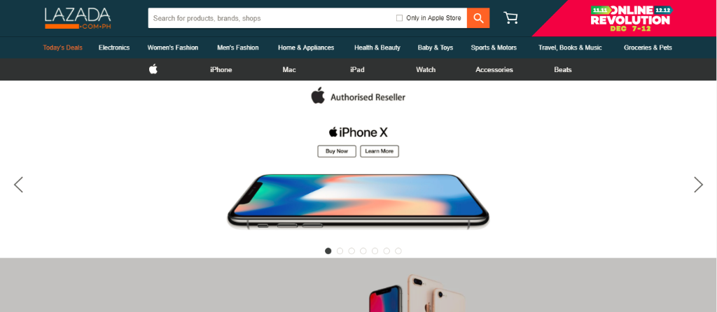 Lazada is now an Authorized Online Re-seller of Apple