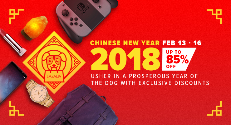 Chinese New Year 2018 Deals