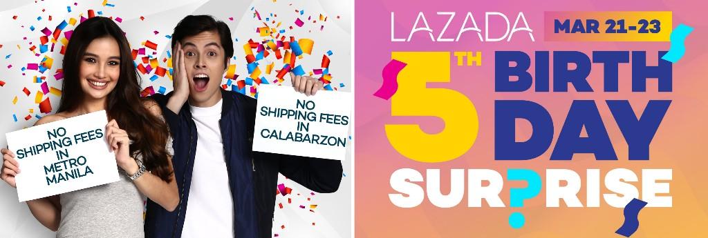 Lazada's 5th Birthday