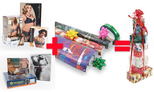 Как упаковываем подарки