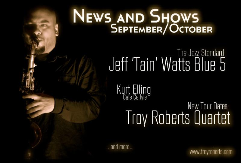 News & Shows Update - September/October