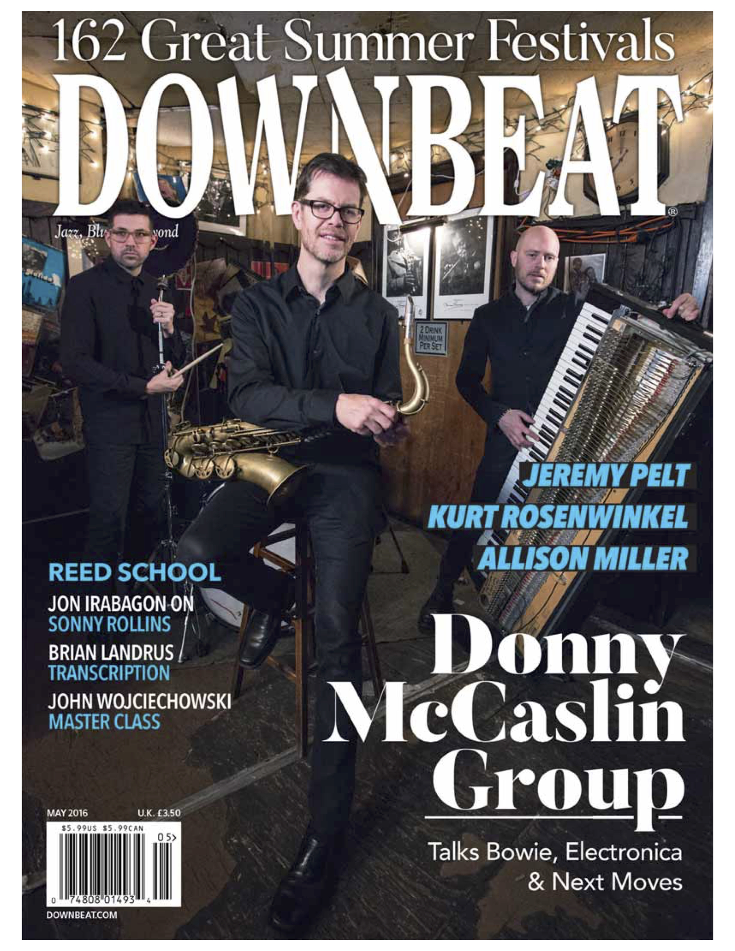 DownBeat - May 2016 Issue