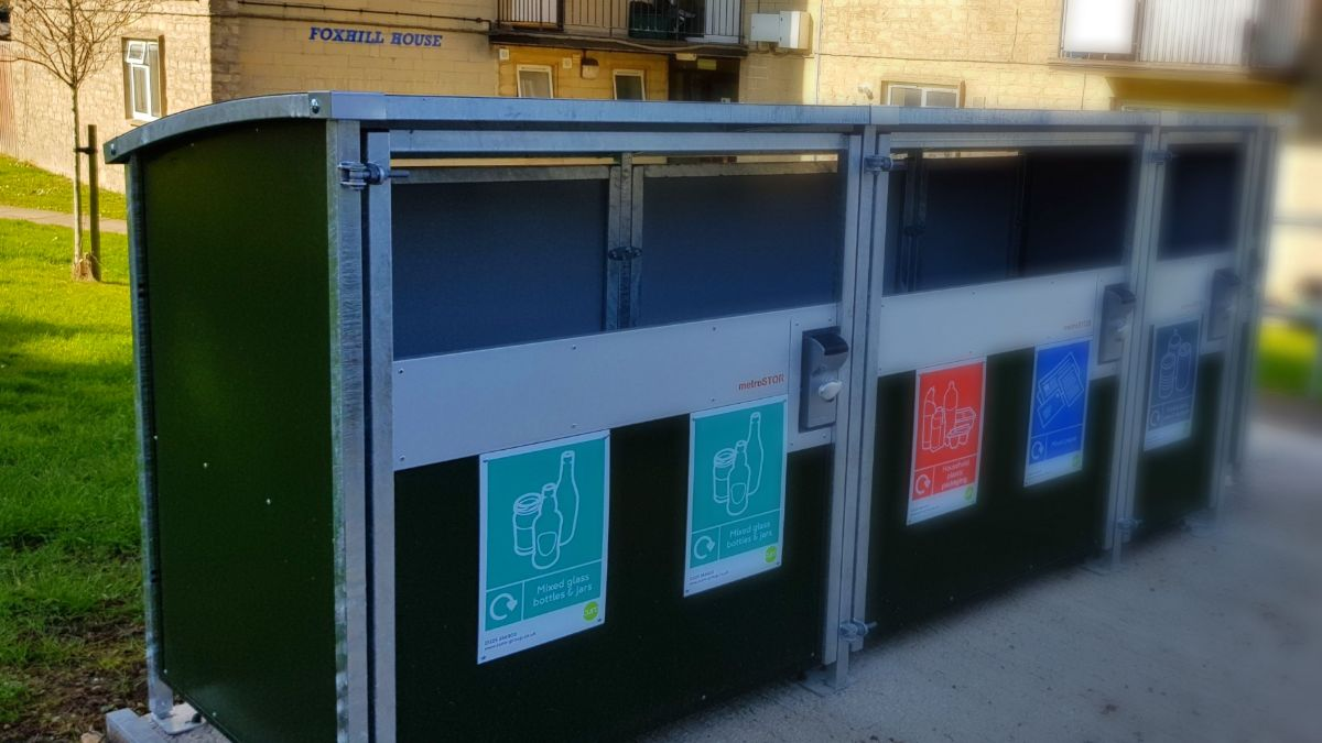 Better bins and recycling facilities