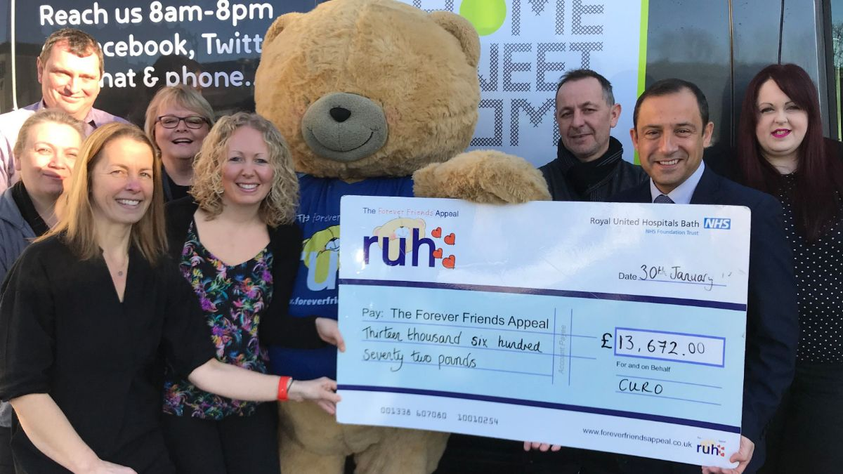£13,672 raised for local cancer care centre