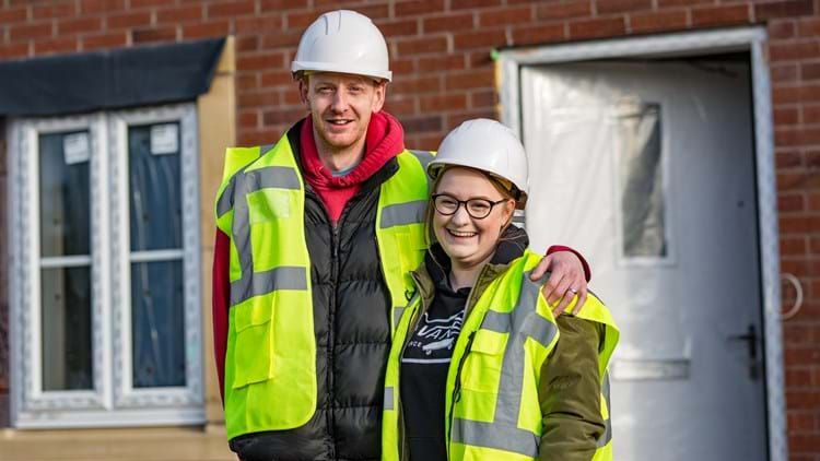 Young family returns to home village thanks to new Curo development