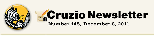 Cruzio Newsletter #145, December 8, 2011