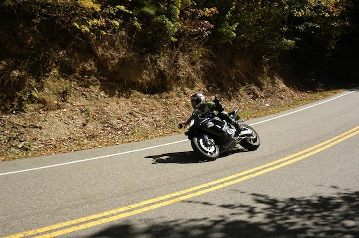 Motorcycles in the Smokies