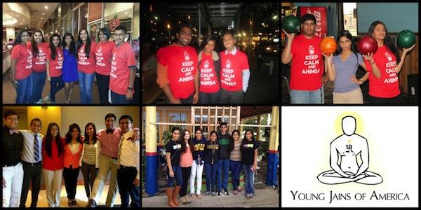 Young Jains of America (YJA) logo