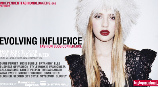 Evolving Influence Fashion Blog Confernece