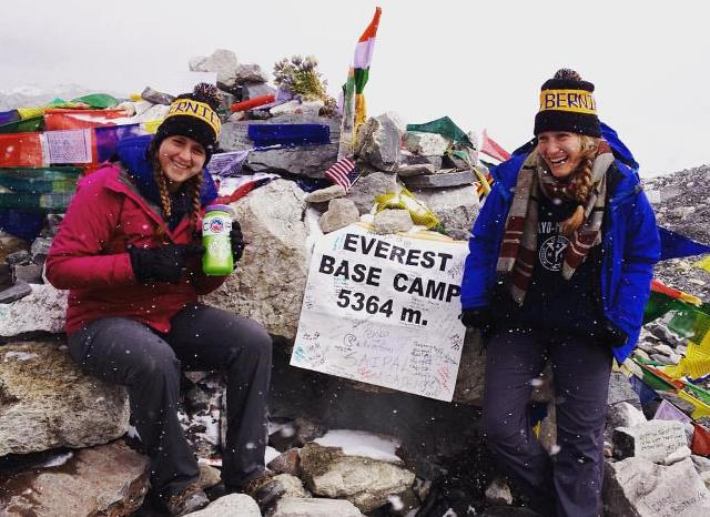 ITrekNepal guests at Everest Base Camp -  October 2015