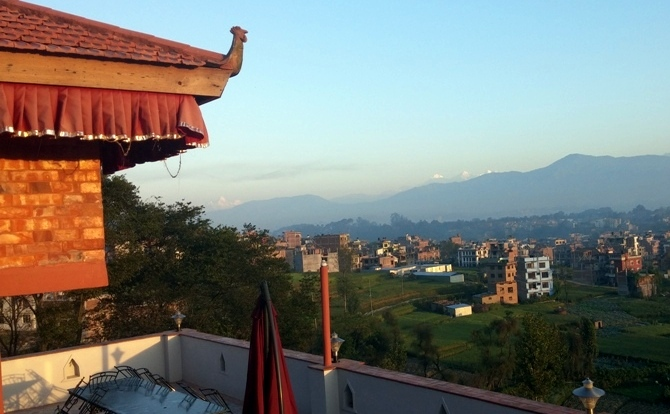 View from Bhaktapur Paradise