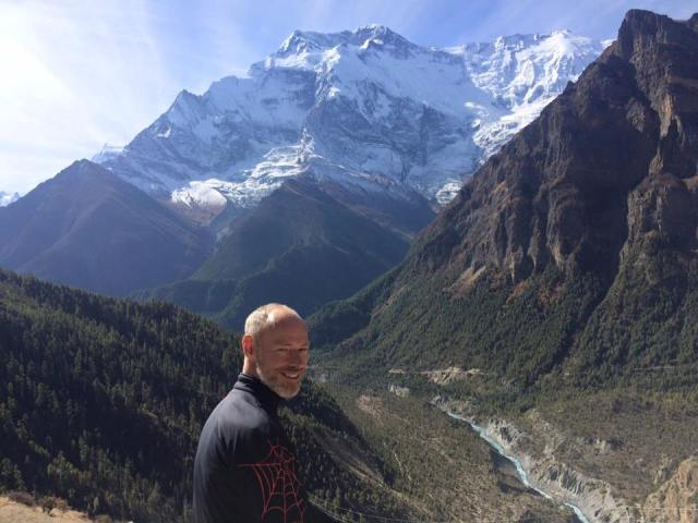 ITrekNepal guest from Denmark on Annapurna Circuit Trek - October 2015