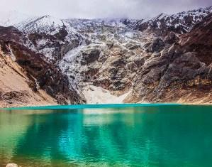 Birendra lake in Manaslu Circuit Trek