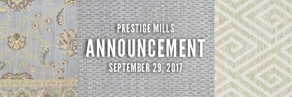 Prestige Mills August 25, 2017 Banner