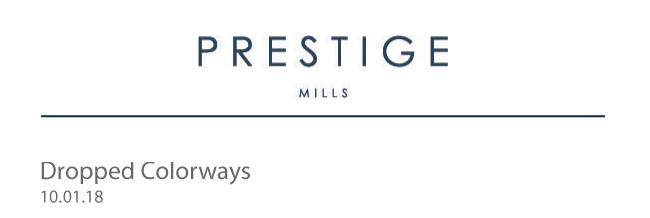 Prestige Mills Oct. 01, 2018 drop banner