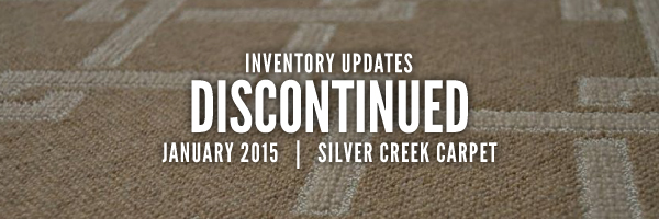 Inventory Updates for AUGUST 2014: Discontinued by Bloomsburg