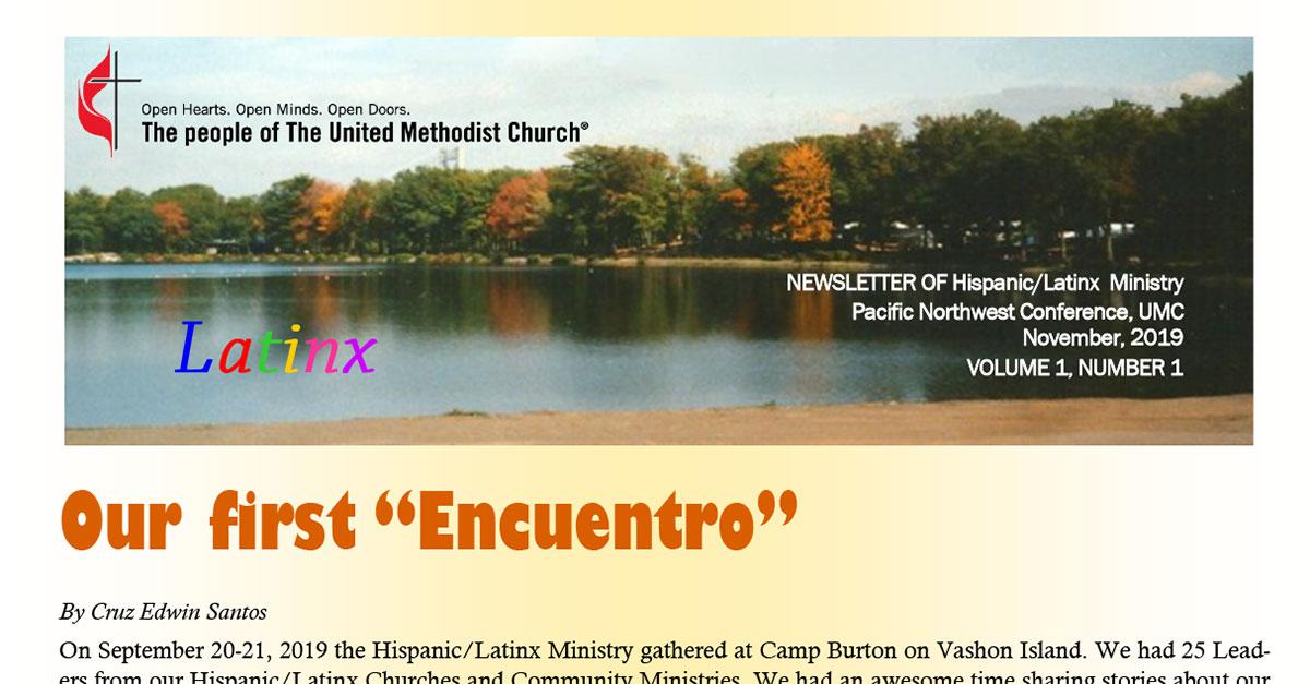 Hispanic-Latinx Newsletter