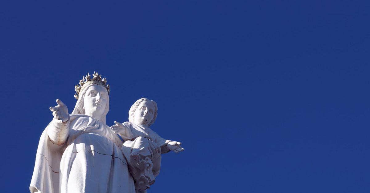 Virgin Mary Slam Poet
