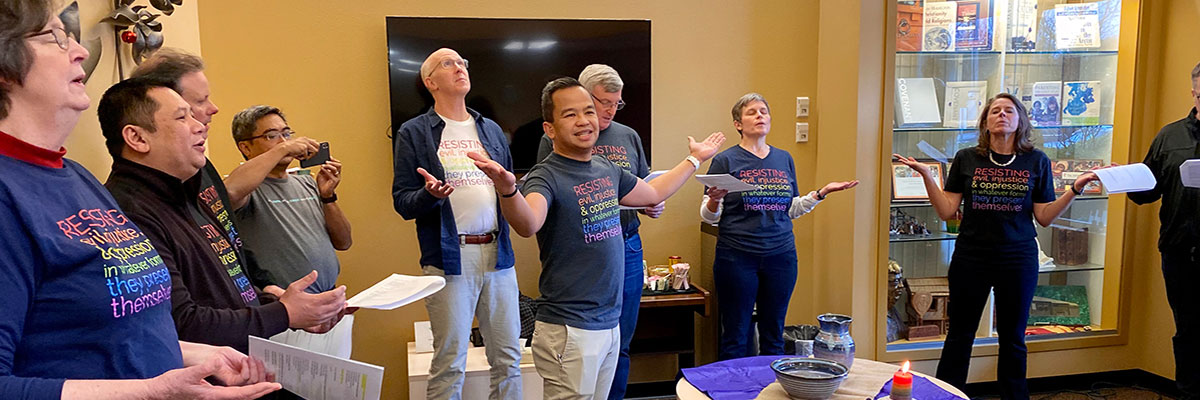 Greater Northwest Area Cabinet begins 2020 with pledge to Resist Harm as it continues to seed a vital, more inclusive church