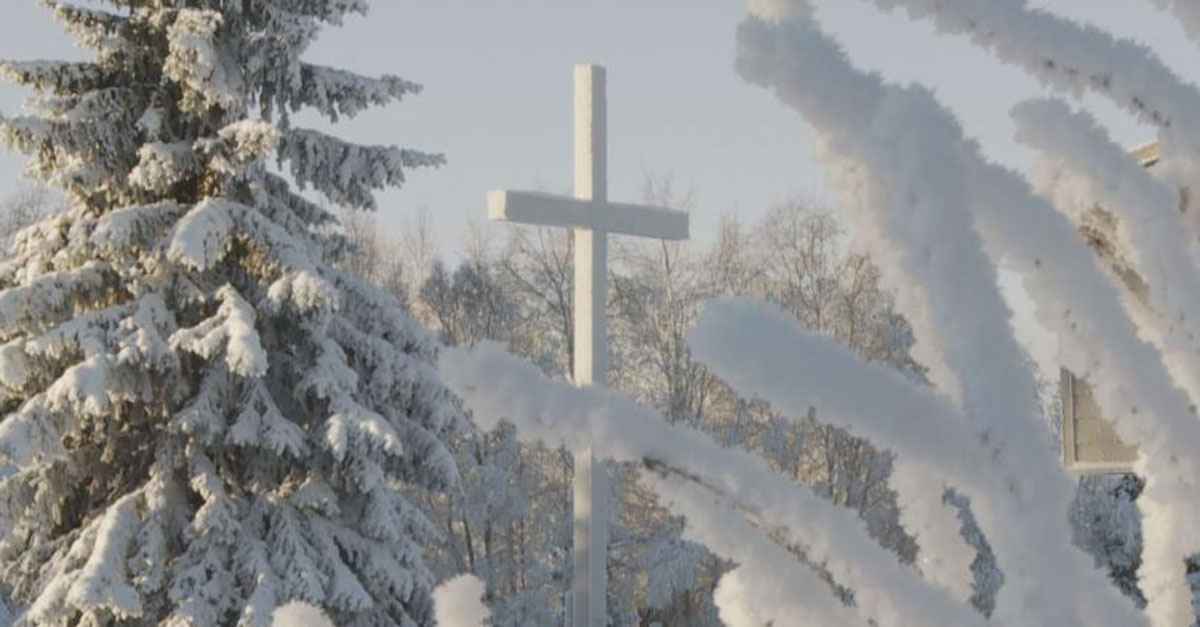 Church shelters homeless in Anchorage