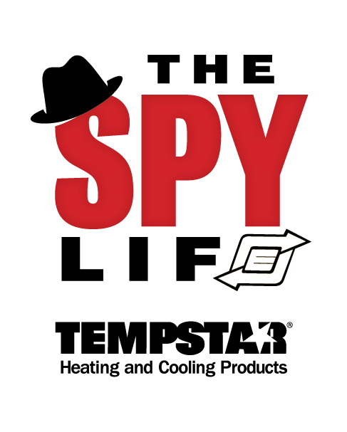 The Spy Life logo with Tempstar logo.