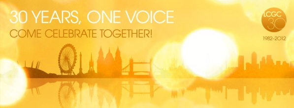 LCGC | 30 Years One Voice. Come celebrate together.