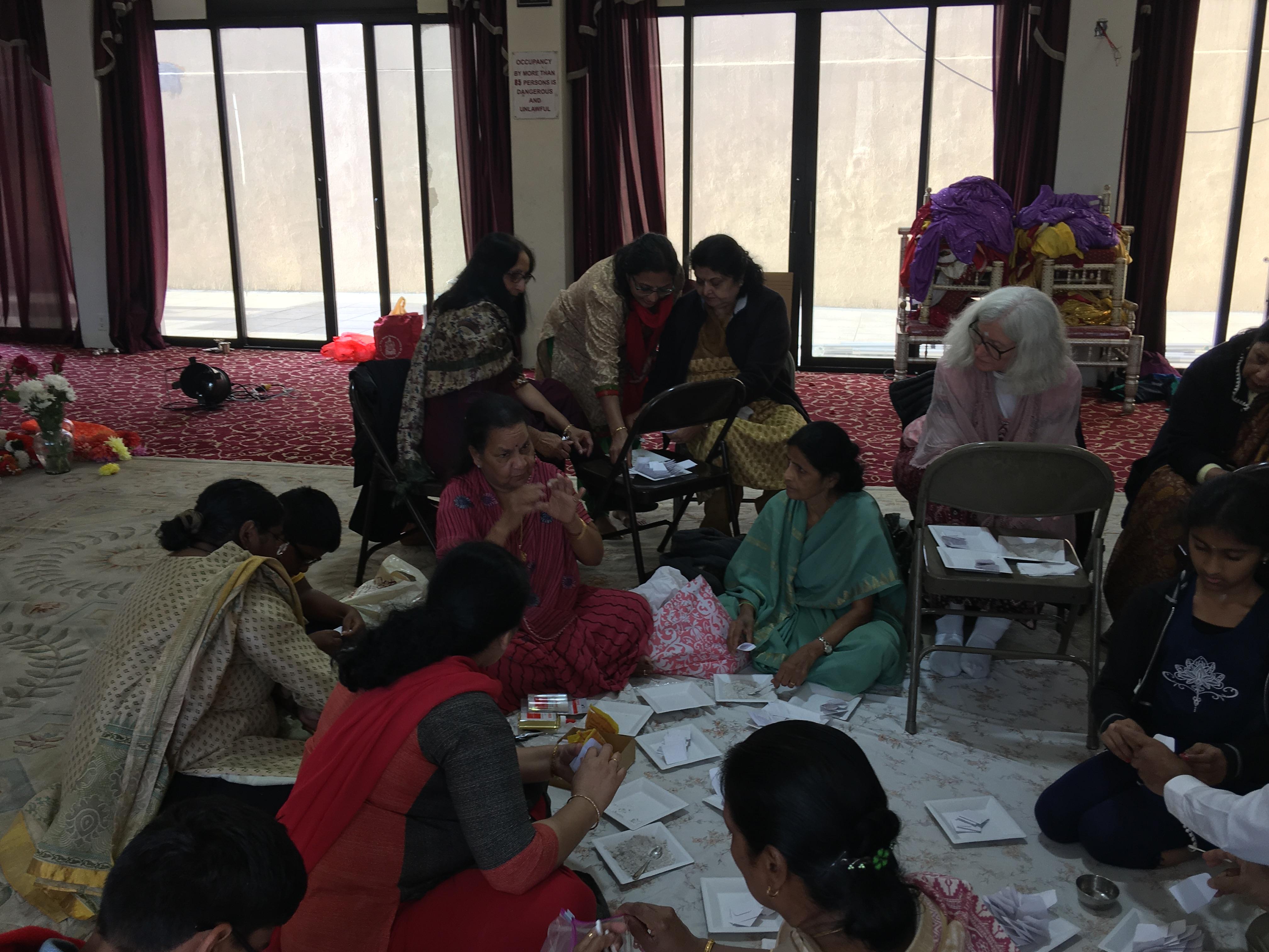 Vibhuthi Packing Service Activity