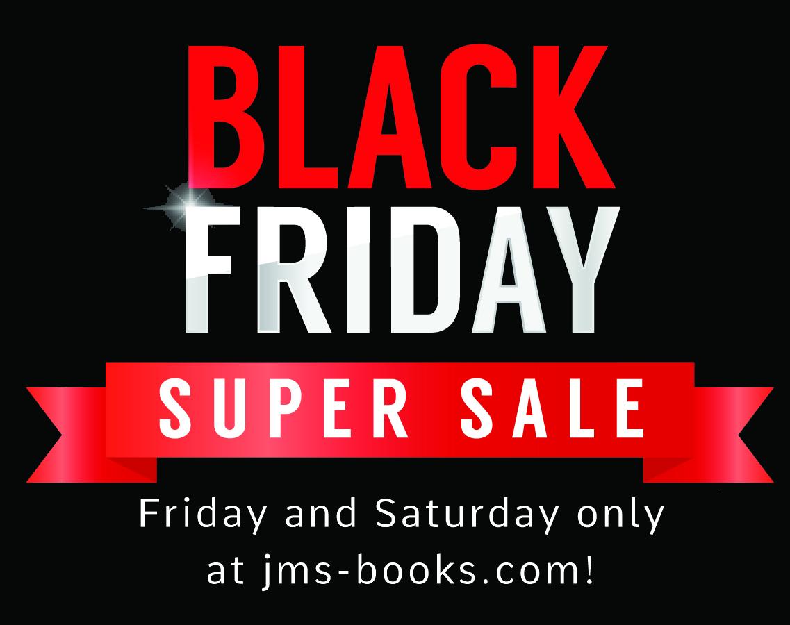 HUGE Black Friday sale! Save 60% off all ebooks!