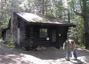Nebo Cabin in Wilderness State Park