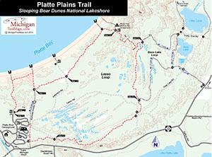 Platte Plains Trail Map